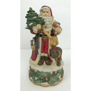 Jolly Old St. Nick Ceramic Christmas Santa Claus